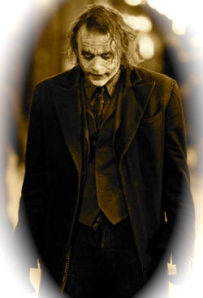 memorial pic for Heath Ledger as the Joker