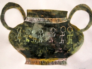 Greek pots